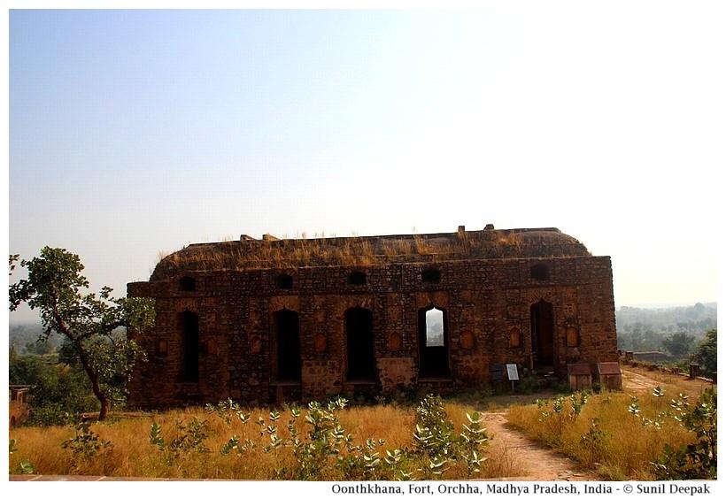 Oonthkhana, Orchha fort, Madhya Pradesh, India - Images by Sunil Deepak