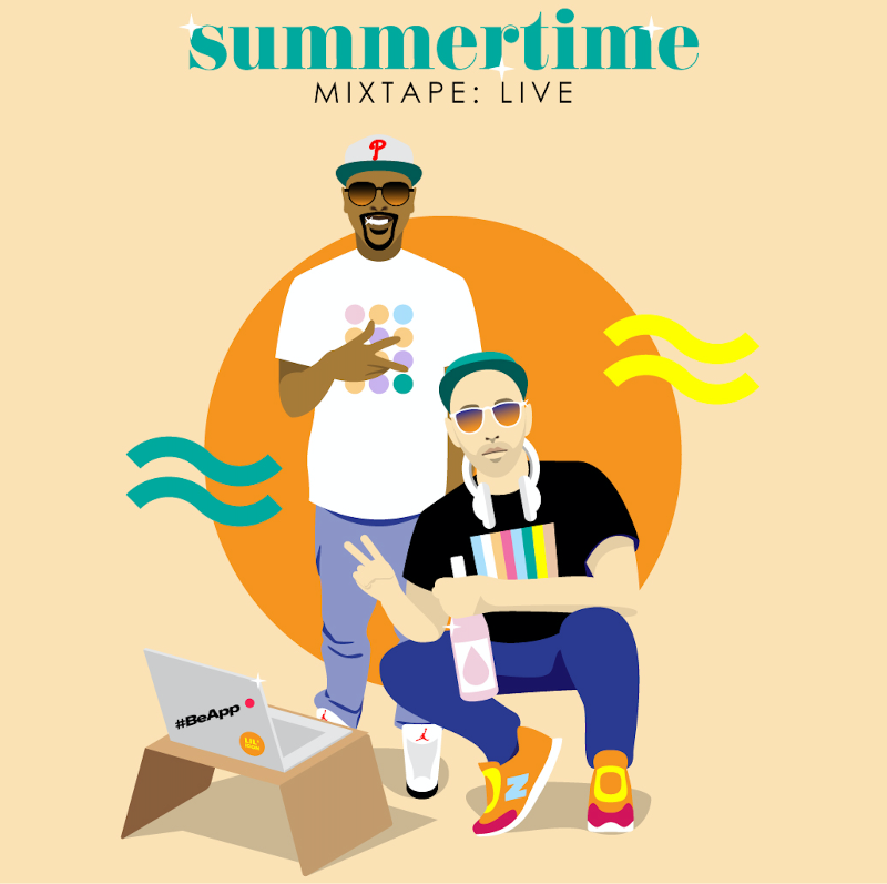 Summertime 2020 von DJ Jazzy Jeff & Mick | The iconic summertime mixtape in stream