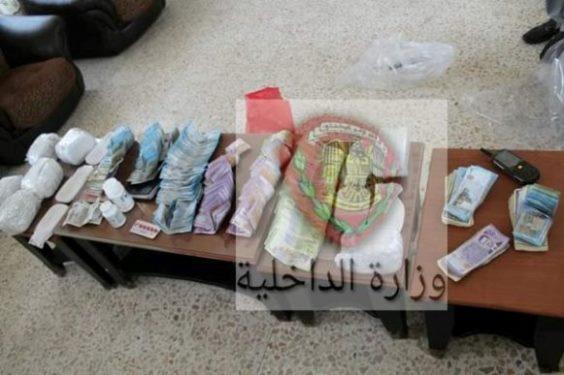 رفض شرطي مرور مبلغ مليون ليرة كرشوة تؤدي لضبط 8 كغ من الحشيش المخدر-فيديو