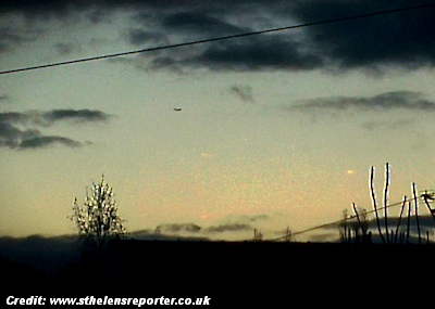 UFO Photographed Over St Helens (UK) 9-15-14