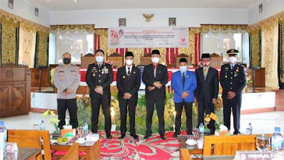 DPRD Kabupaten Lima Puluh Kota Gelar Rapat Paripurna Istimewa