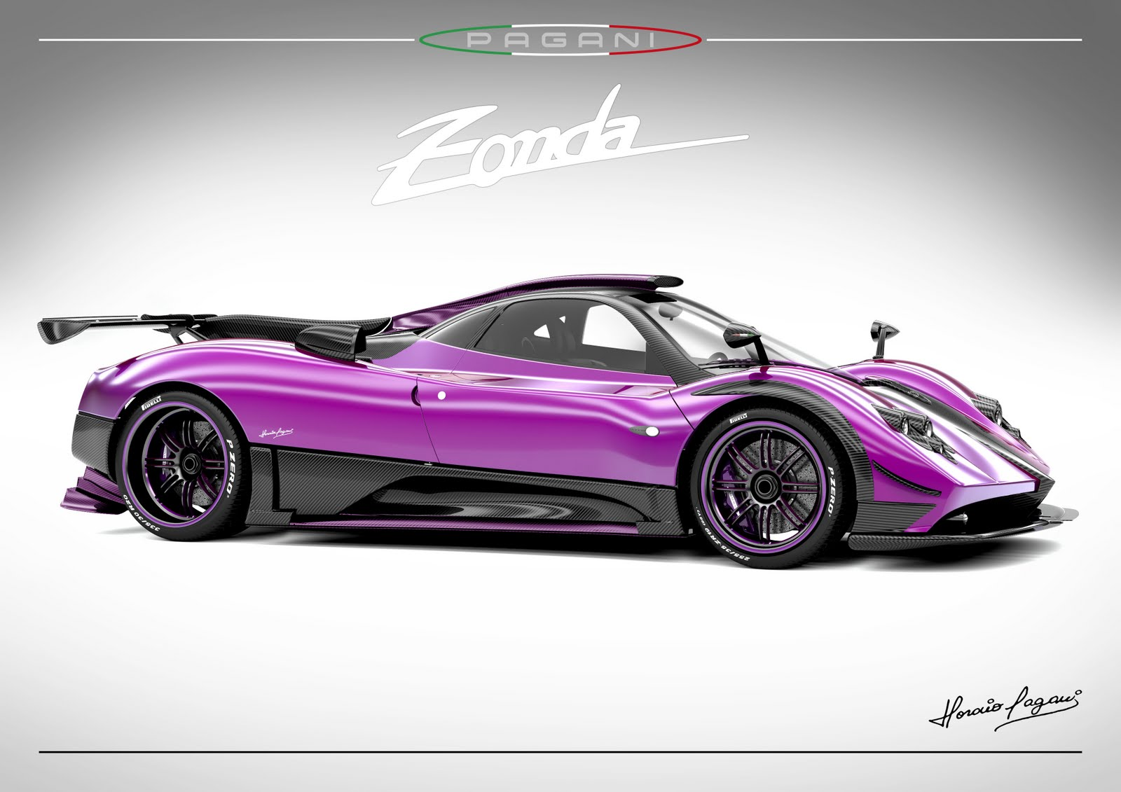 marchettino the only official website pagani zonda 760lh. Black Bedroom Furniture Sets. Home Design Ideas