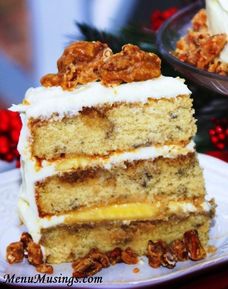 Bananas Foster Cake @ menumusings.com @ menumusings.com
