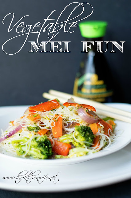 Vegetable Mei Fun Recipe