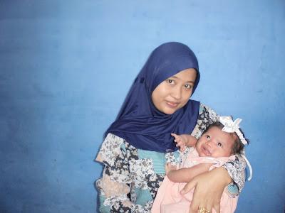One Month - My Baby Girl [Az-Zuhrah Ramadhani Tanjung]