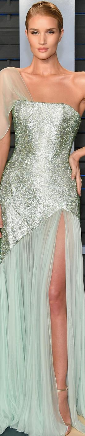 Rosie Huntington Whiteley 2018 Vanity Fair Oscar Party