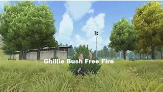 Cara Mendapatkannya ghillie bush free fire untuk Penyamaran FF