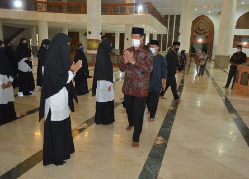 Isdianto Lantik Pengurus PD PRM-DMI Kabupaten Natuna Periode 2020-2022