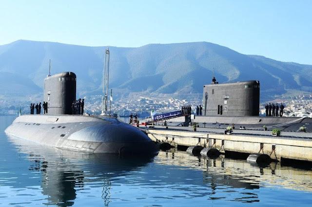 Submarino clase Kilo Argelino