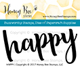 Honey bee - HAPPY