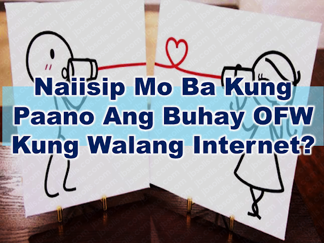 Do you imagine the life of  Overseas Filipino Workers the time when there is no internet yet and their communication with their families depend only on snail mail, telegram and voice tapes?  The internet and lots of communication devices and apps play a great role in keeping OFW families together despite the distance.  Advertisement       Sponsored Links       Communication is what makes a relationship stronger and today, modern technology and the internet play a great role in binding people together especially those who are separated by great distance, especially the OFWs and their families. In this fast-paced world, everything depends on how fast you can adapt to any situation.  In the late 70's to early 90's Overseas Contract Workers (OCWs) then depend on snail mails that took them months of waiting just to read from their loved ones back home. During their time, homesickness eats you big time. If you want to talk with them via long-distance telephone, it will cost you a lot, needless to say, you are most likely to spend a big chunk of your hard-earned salary.    I remember as a child, my grandmother used to gather everyone just to record a voice tape to be sent to our relatives in Canada. Each of them has their own letter to be read during the voice tape recording. Using a cassette recorder and a couple of cassette tapes with 90 minutes on each side, the tape recording has a variety of contents, from greetings, stories, requests, reminders and even song and poems from kids.    With the emergence of the modern communication devices and the internet, communication between the OFWs and their families has become easier. Now they can watch what they are both doing real time. They can talk to each other whenever they want. Social media apps also have messaging service that allows them to send a message at any time for free. It makes families closer even if they are located on either side of the globe.    Although time and distance seem not to be a barrier to connect, 