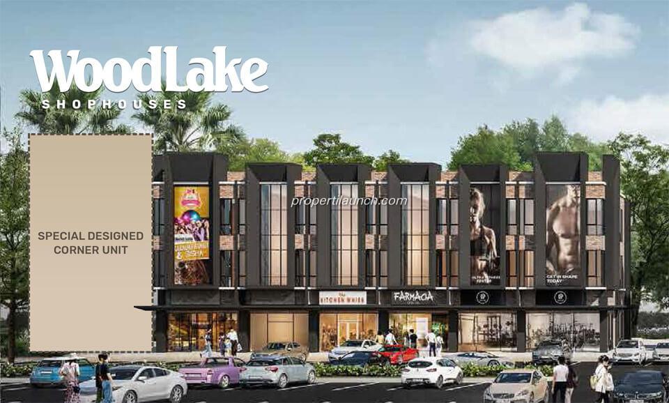 Woodlake Shophouse Alam Sutera