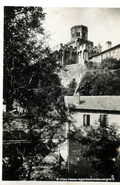 Photo ancienne de Royat, Puy-de-Dôme.