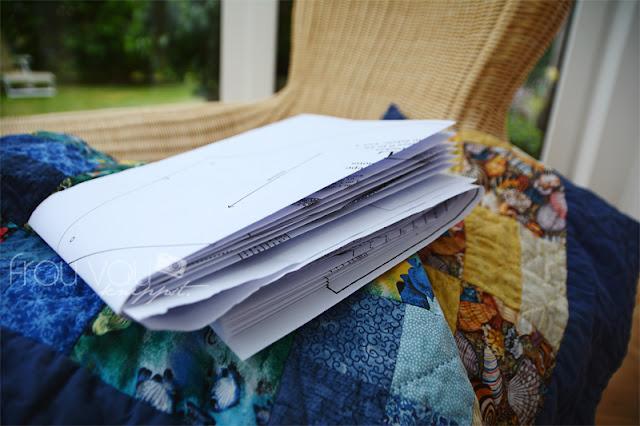 Nähen statt Kleben: pdf-Schnitte günstig plotten lassen @frauvau.blogspot.de
