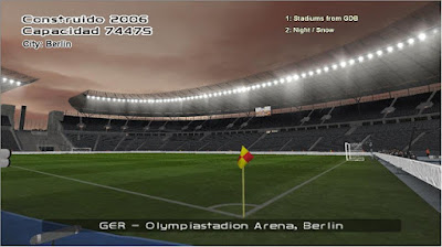 PES 6 Stadium Collection