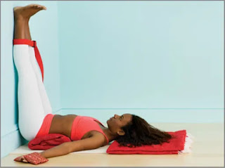 Easy and Effective Yoga Poses to Sleep Fast - Legs Up the Wall