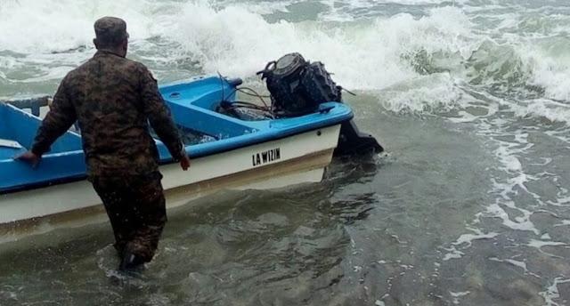 Marina descubre 4 embarcaciones ilegales destinadas a trasladar personas