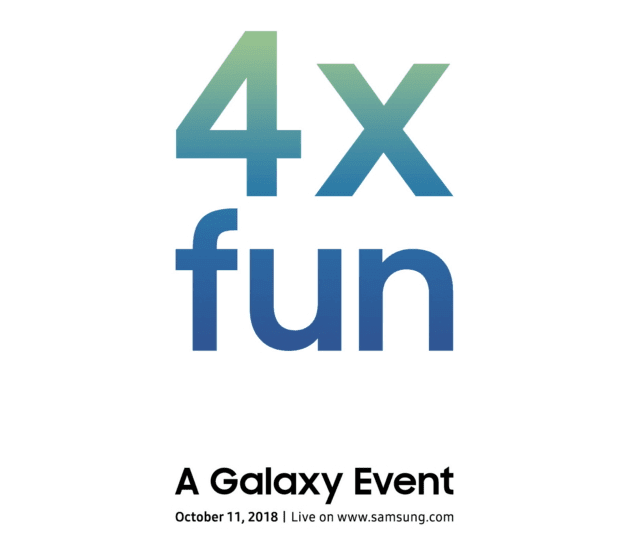 Samsung Galaxy Device With 4 Cameras to Launch on October 11