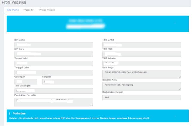 Cara Mudah Cek NIP di Laman Baru Profil PNS BKN