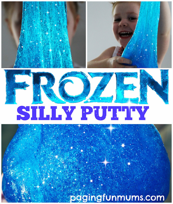 Frozen Slime Silly Putty