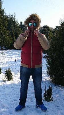 Zimowa stylizacja, kurtka ze sklepu DressLily.