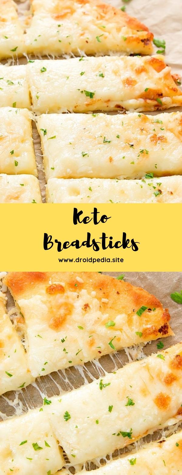Keto Breadsticks #keto #lowcarb #appetizer #glutenfree