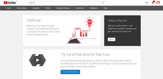 YouTube Test tube - YouTube Features, Tips And Tricks