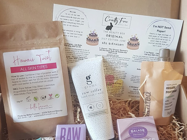 The Cruelty Free Beauty Box Review - Birthday Box First Impressions!