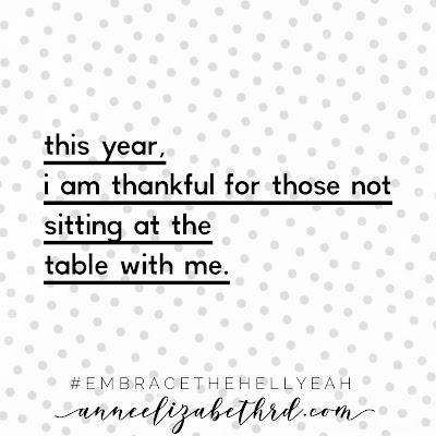 Thanksgiving Gratitude in black lettering on a polka dot background