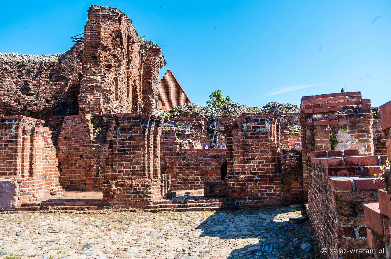 Ruiny zamku krzyżackiego Toruń