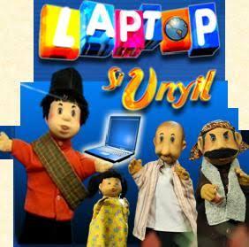 laptop Si Unyil