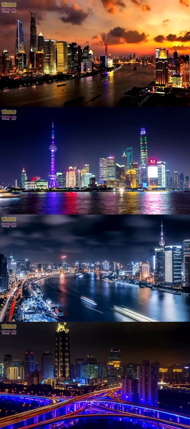 TOP 10 MOST BEAUTIFUL CITIES IN ASIA 2019 6. Shanghai, China