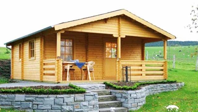 Inspirasi Desain Rumah Kayu Minimalis Gaya Amerika