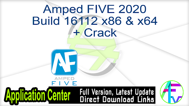 Amped FIVE 2020 Build 16112 x86 & x64 + Crack