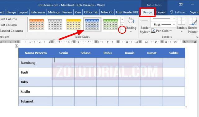 7 Cara Membuat Tabel di Word dan Mengaturnya Praktis dan Cepat