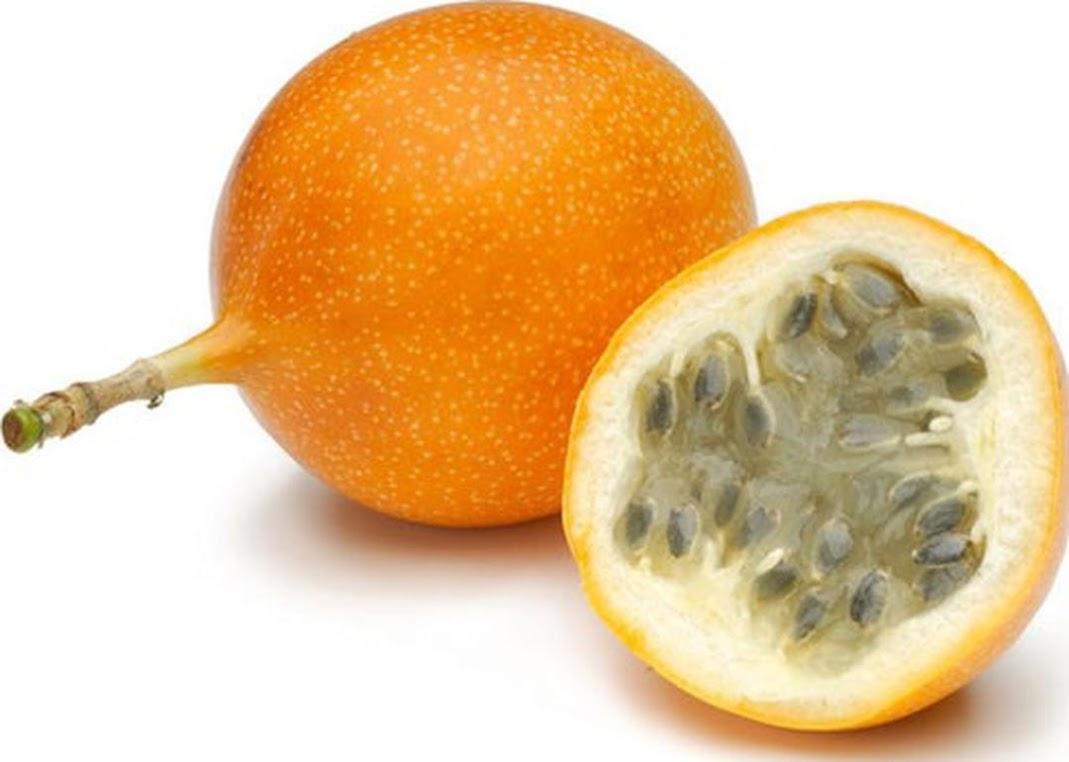 Bibit Benih Biji Buah Markisa Oren Orange Passion Fruit Kaya Manfaat Isi 10 Biji Riau