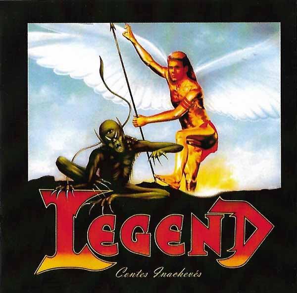 """Ο δίσκος των Legend """"Contes Inachevés"""""""