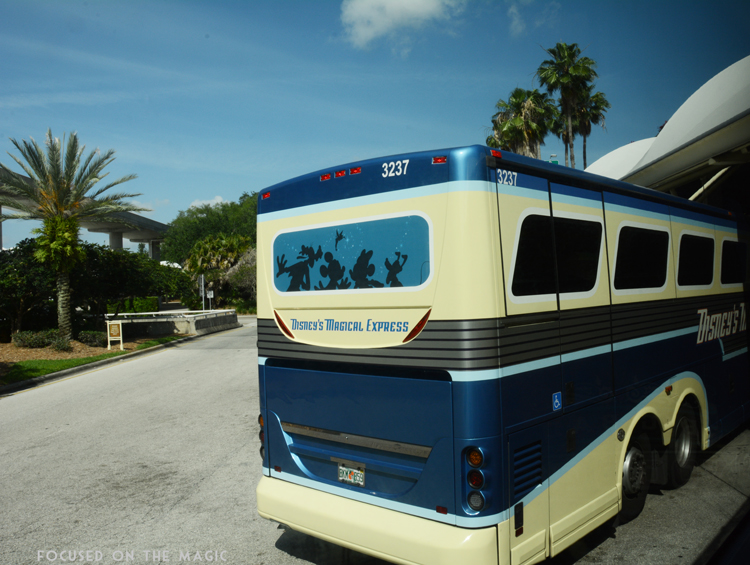 Disney's Magical Express Motorcoach