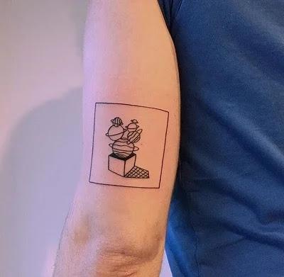 Good Times Minimalist Tattoo