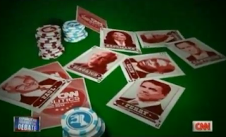 GOP presidential candidates as playing cards