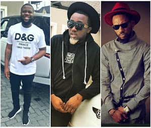 Hushpuppi comes for Iceprince and Phyno for wearing fake wrist watches