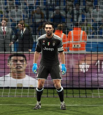 PES 2013 Juventus 2016-2017 GDB Update v1.5 by Strex-Kitmaker