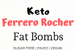 Easy No Bake Ferrero Rocher Keto Fat Bombs