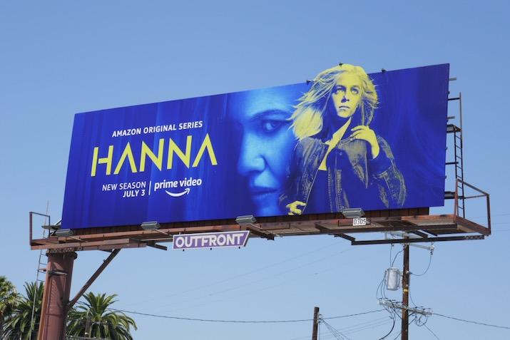 Hanna season 2 billboard