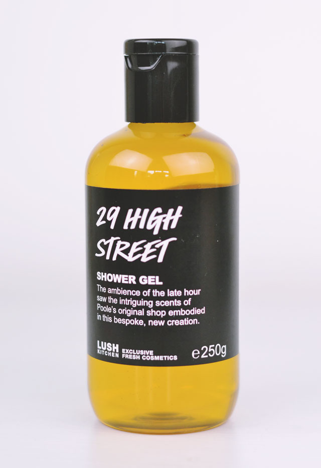 29 High Street Shower Gel Lush Review