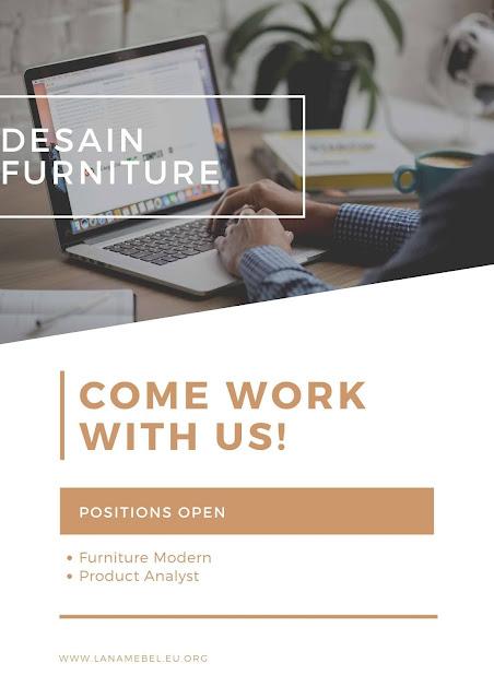 Perabotan furniture gaya modern