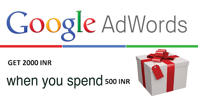 Google adwords coupon for India, google advertising coupon