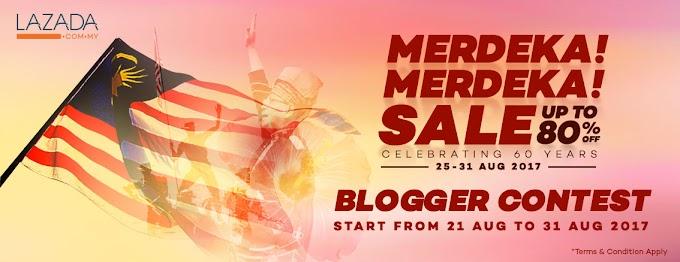 Merdeka!! Merdeka!! Blogger Contest by Lazada