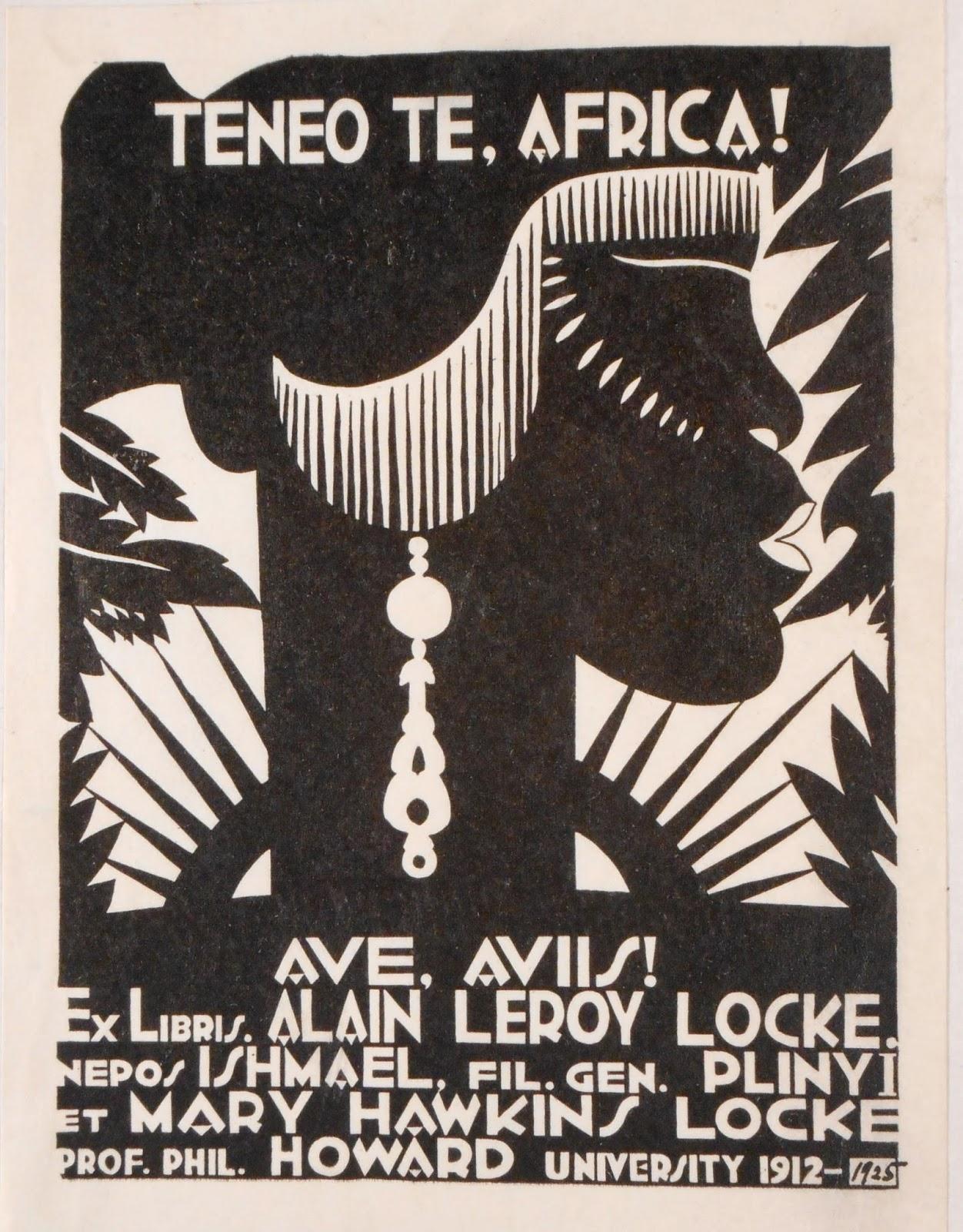 Locke's bookplate.
