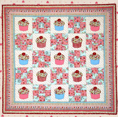 Quilt Inspiration: Free pattern day: Sweets ! Cupcakes, ice cream ... : cupcake quilt patterns - Adamdwight.com